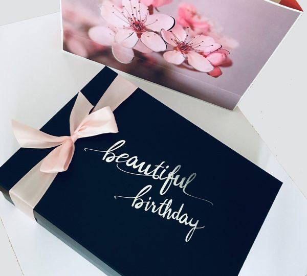 Geburtstagsgeschenk Frau beautiful birthday Deckel