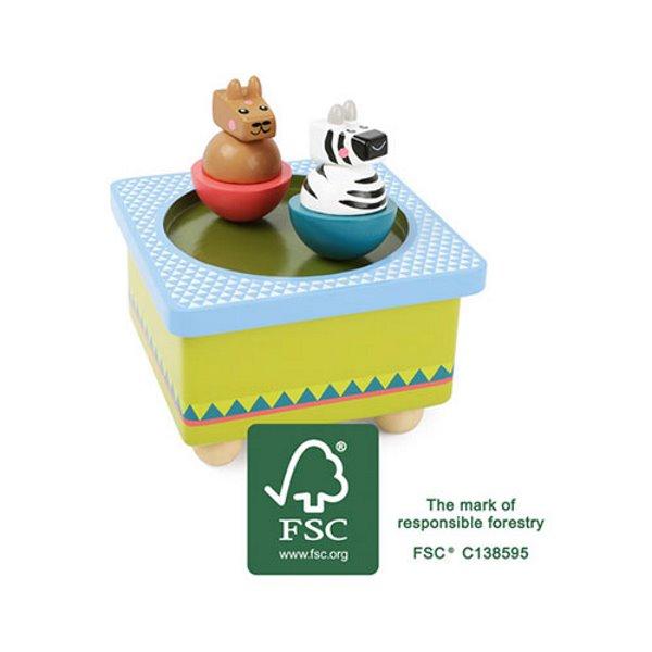 Geschenk Kinder Spieluhr Jungle