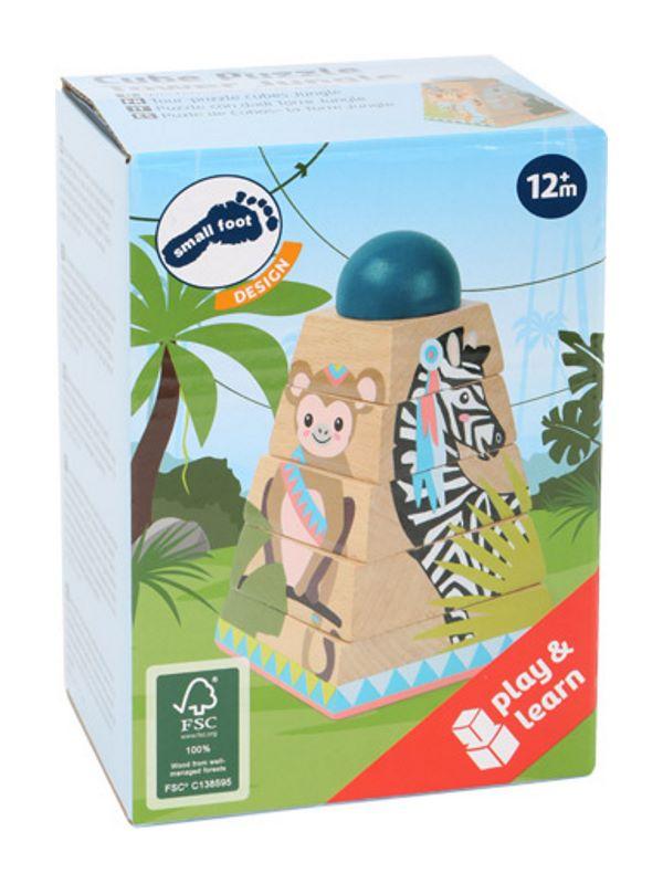 Geschenk Kinder Stapelturm Jungle Verpackung