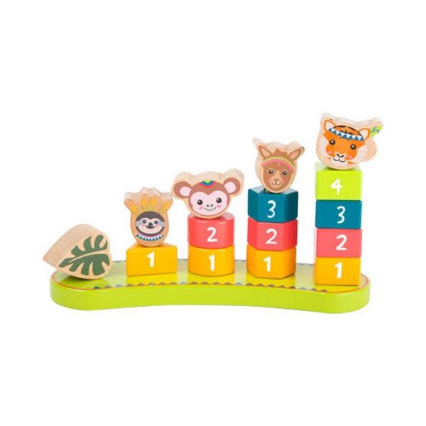 Geschenk Kinder Steckspiel Zahlen