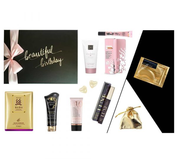 Geburtstagsgeschenk Frau beautiful birthday SPA DELUXE Produkte